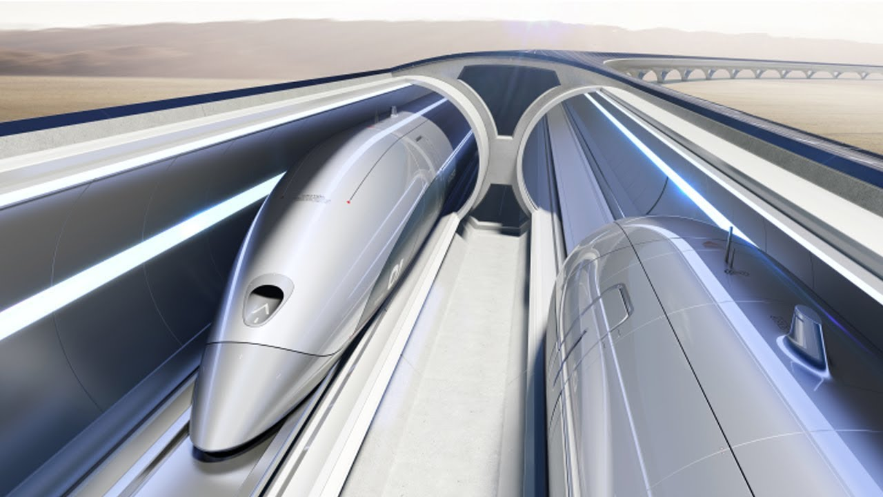 Elon Musk Hyperloop, the fastest way to cross the surface of the earth.
