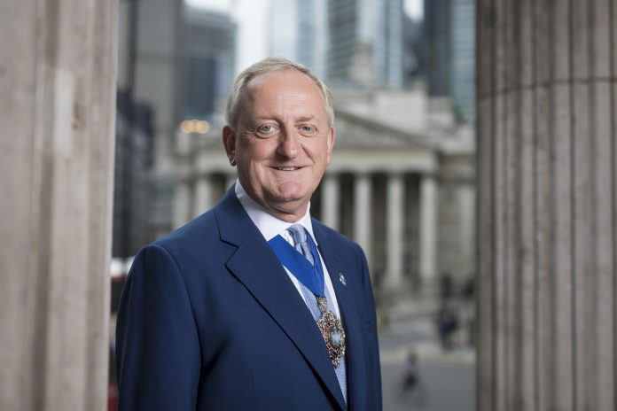 Lord Mayor of the City of London Peter Estlin