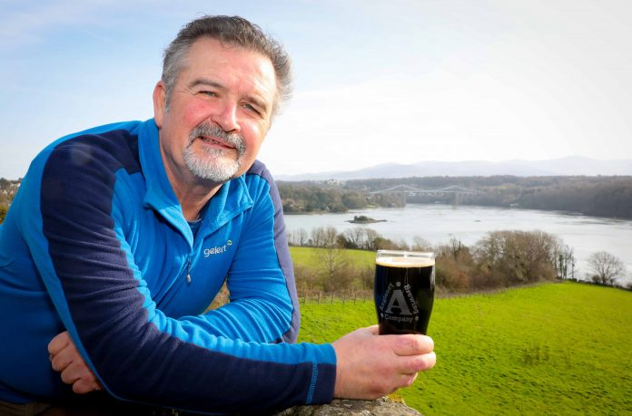 Head brewer Tom Adamson will be unveiling the porter-style beer at the inaugural Anglesey Food Festival that's being held on the Anglesey Showground from Thursday, May 30, to Saturday, June 1.