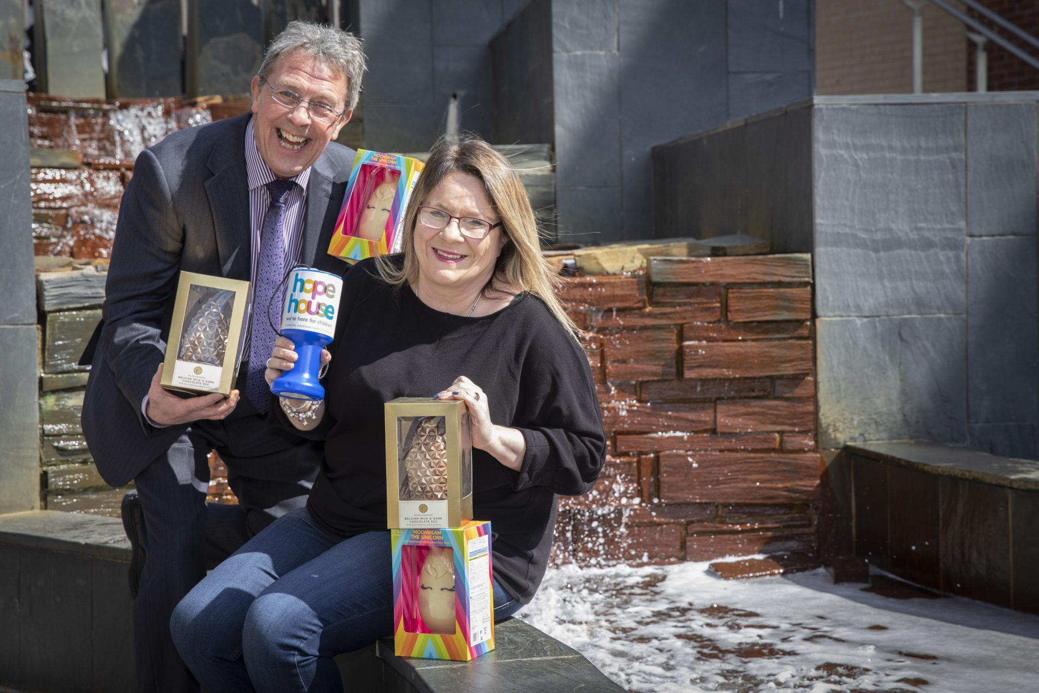 Easter eggs-travaganza at Eagles Meadow will boost children's hospice