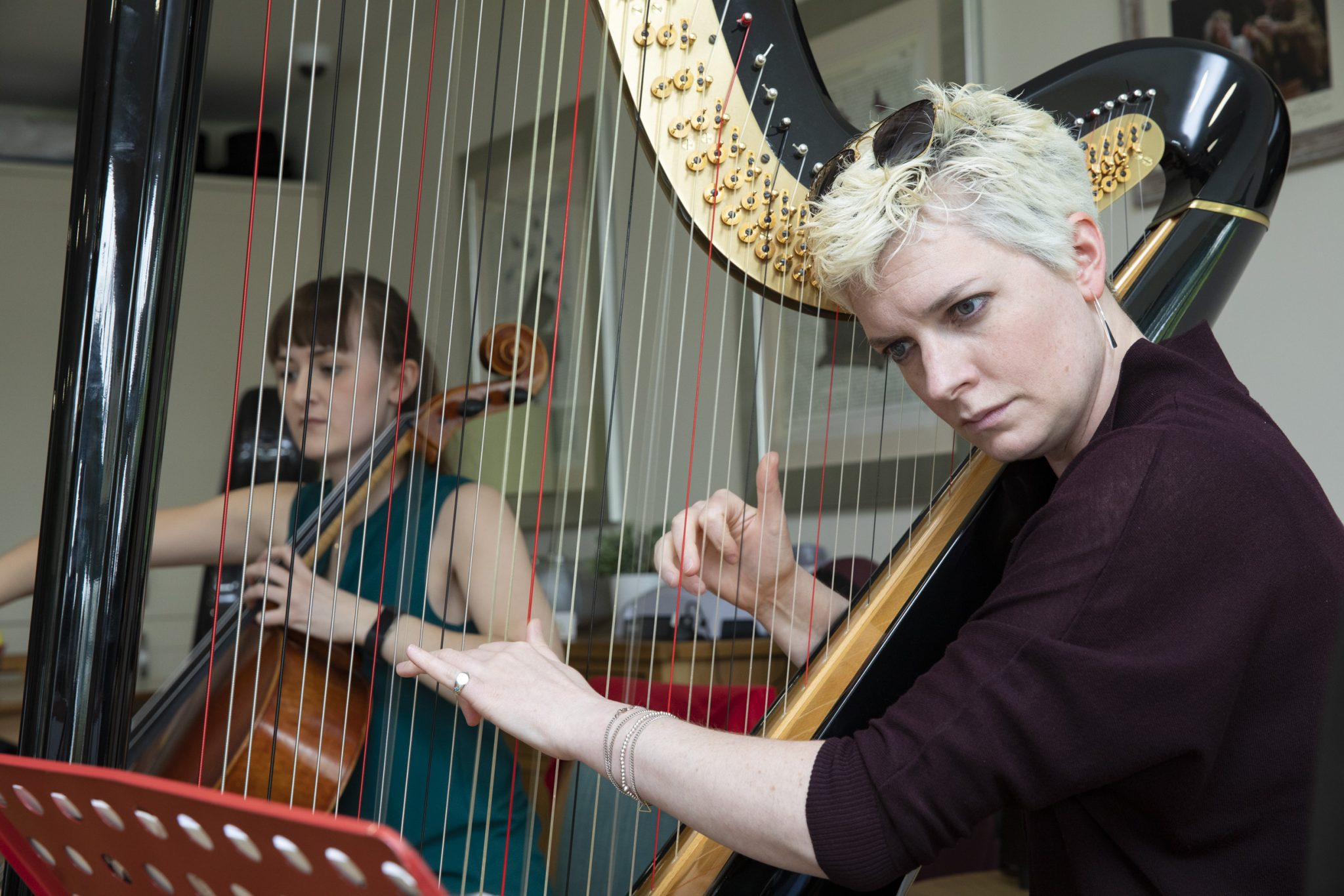 Dream comes true for young cellist Elin at Bryn Seiont Newydd