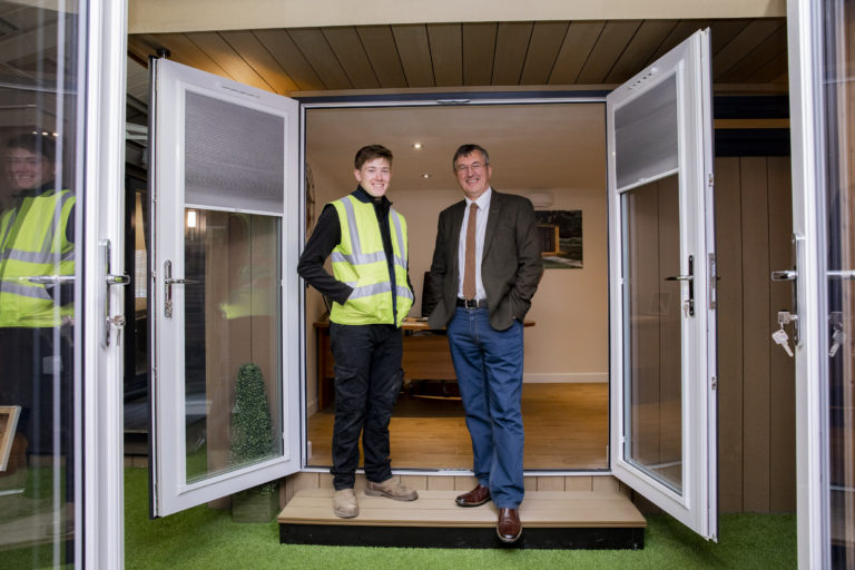 Pioneering Deeside company Rubicon Garden Rooms in the running for top SME business award
