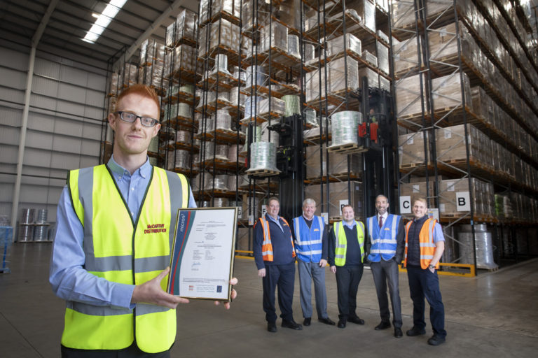Top AA grading for Wrexham distribution firm