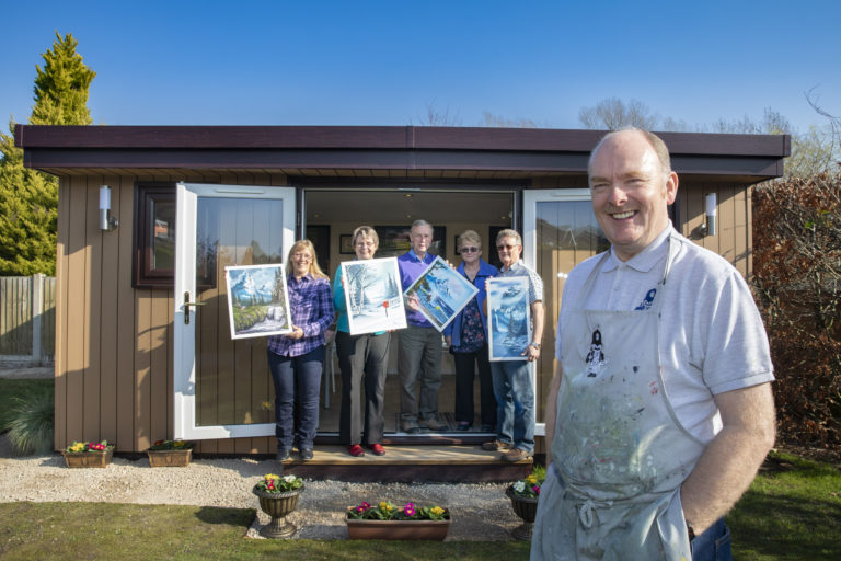 Rubicon Garden Rooms wins Unique Business of the Year at Welsh SME Business Awards