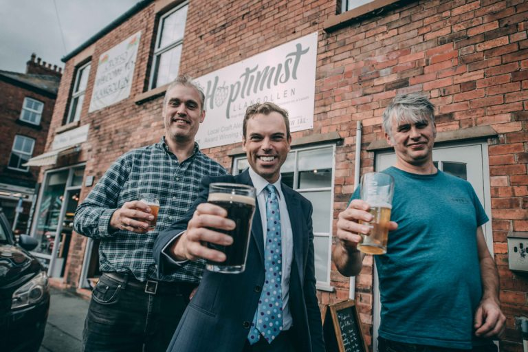 New micro pub puts the ales in Wales and replaces music with chat