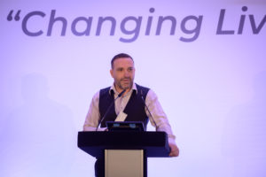 Scott Jenkinson speaking at the Steve Morgan Foundation's Annual Conference.