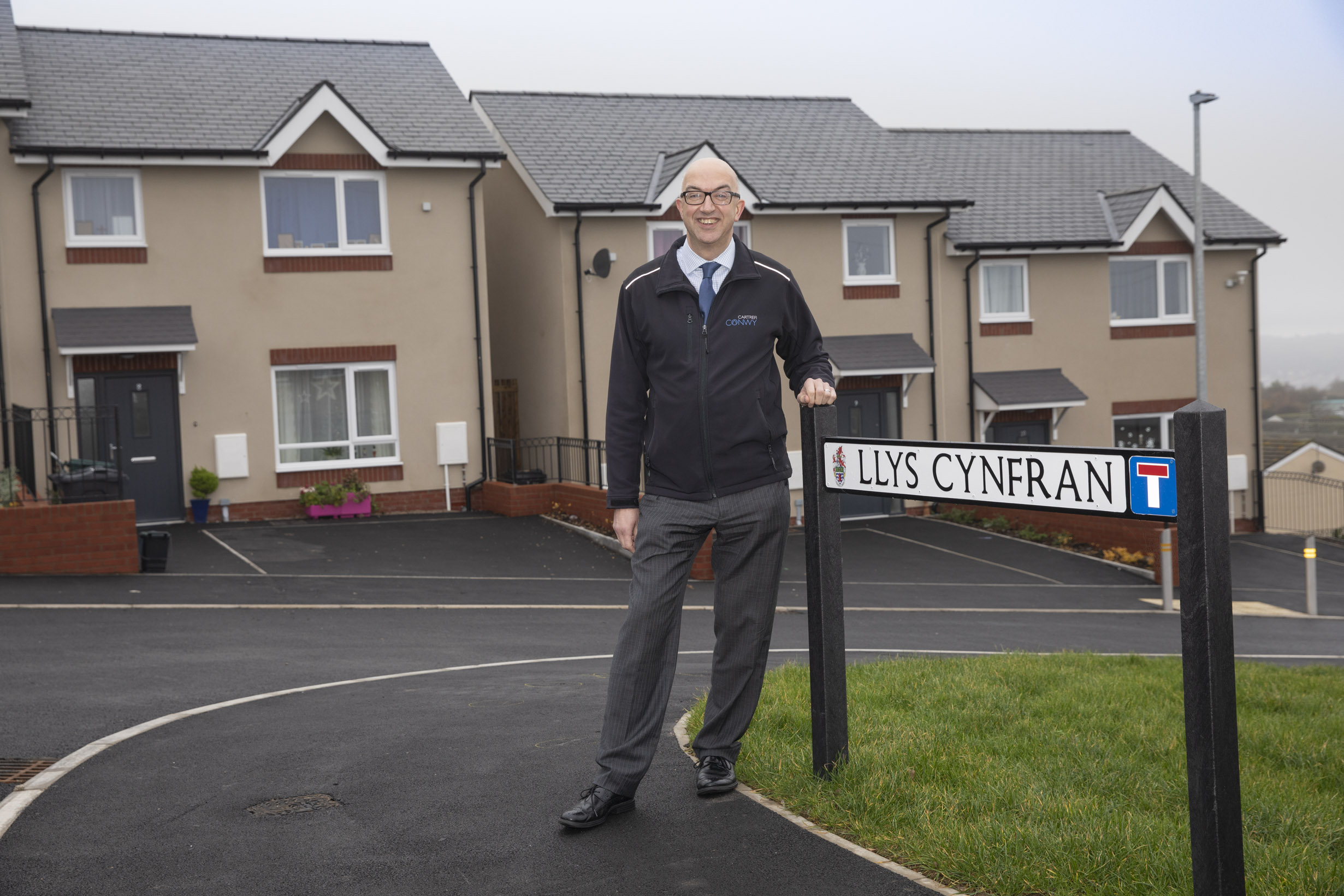 """Surprise"" award for housing boss Gwynne at forefront of £45m plan to build 428 new homes"