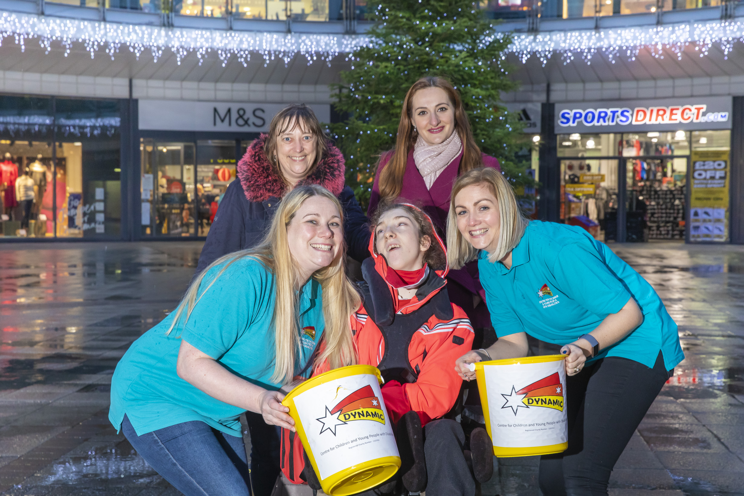 Christmas shoppers urged to help youngsters like Caitlin live life to the full