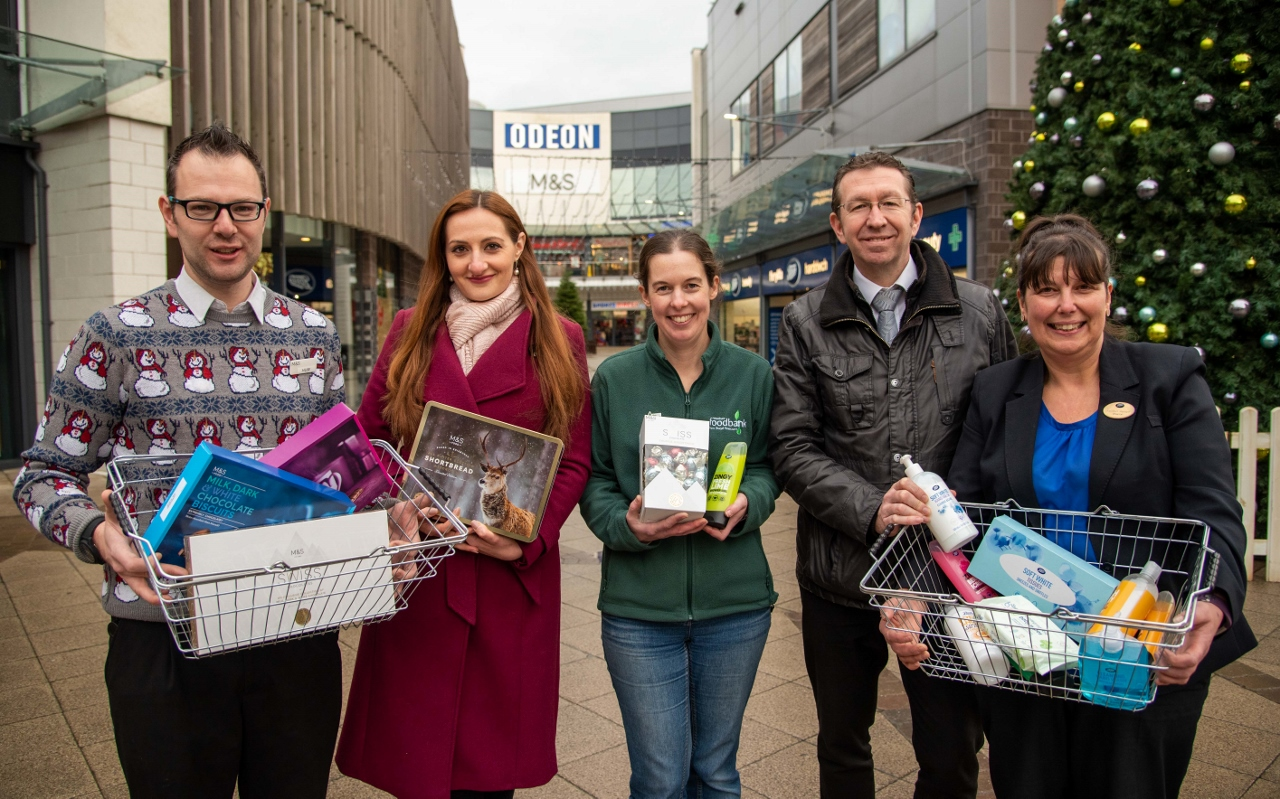 Families in need are in for festive boost thanks to Wrexham shoppers