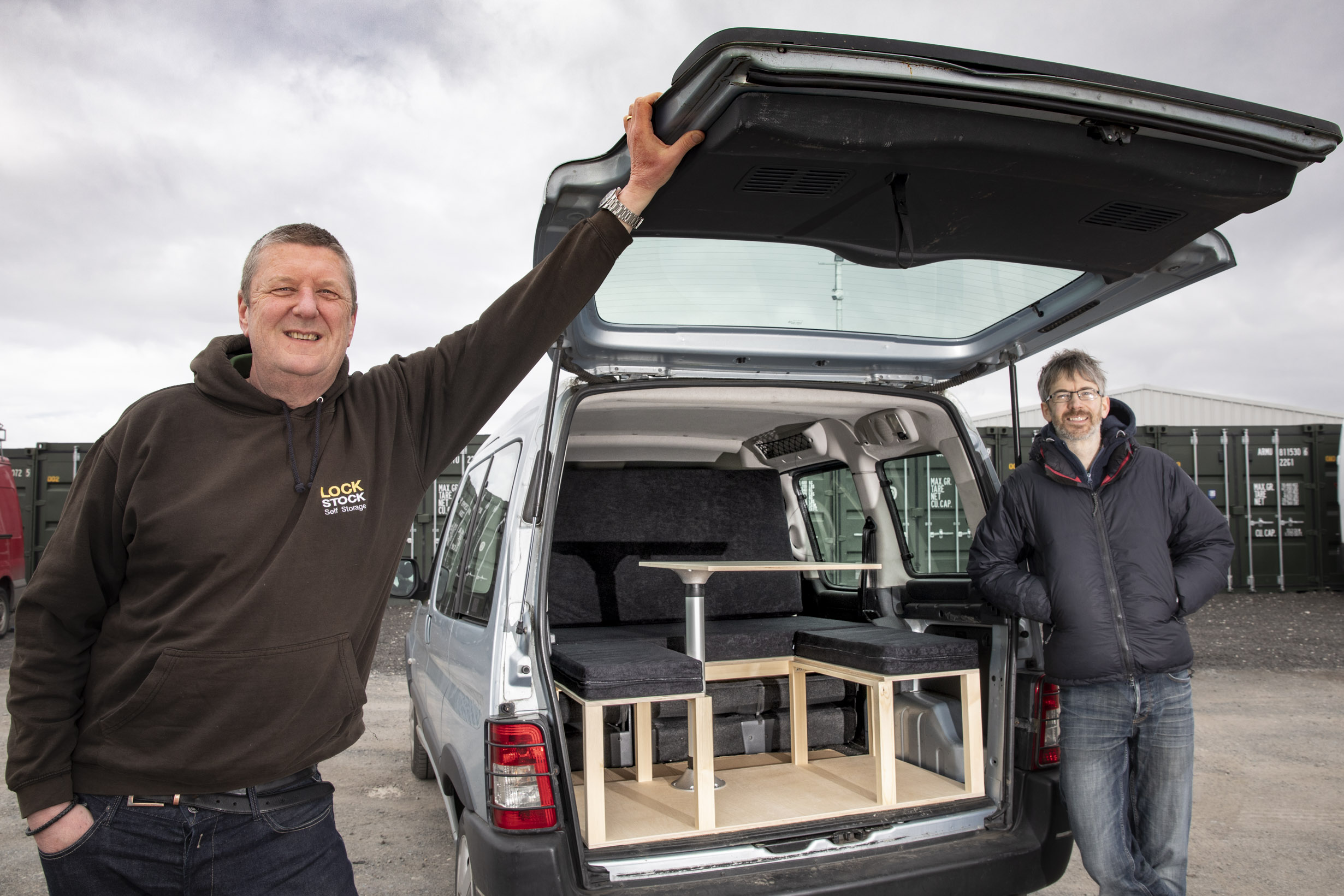 Tommy's ticket to adventure with a simple camper van conversion