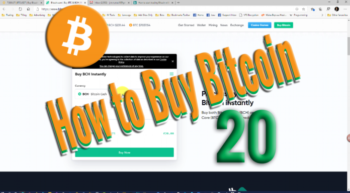 How to buy and start trading Bitcoin with just 20