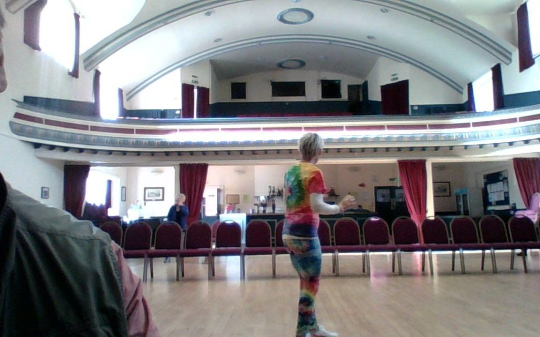 Carys dances all day and all of the night to raise £4K for NHS charity