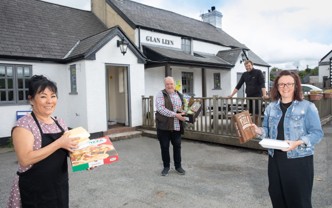 Community pub and shop supply vulnerable people in virus crisis