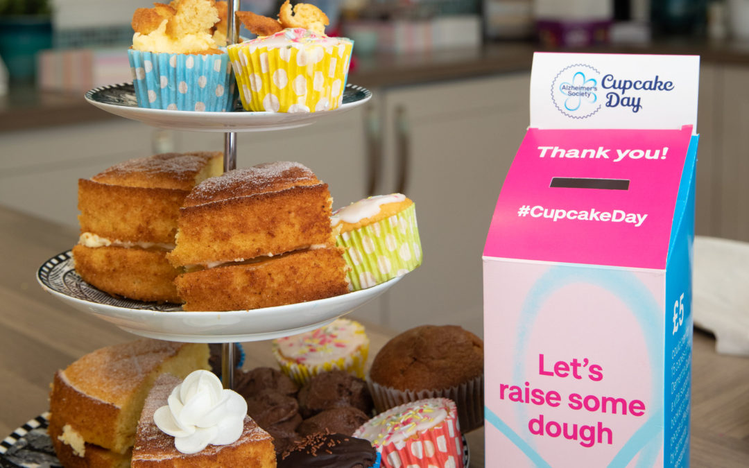 Raising money for dementia charity is a piece of cake