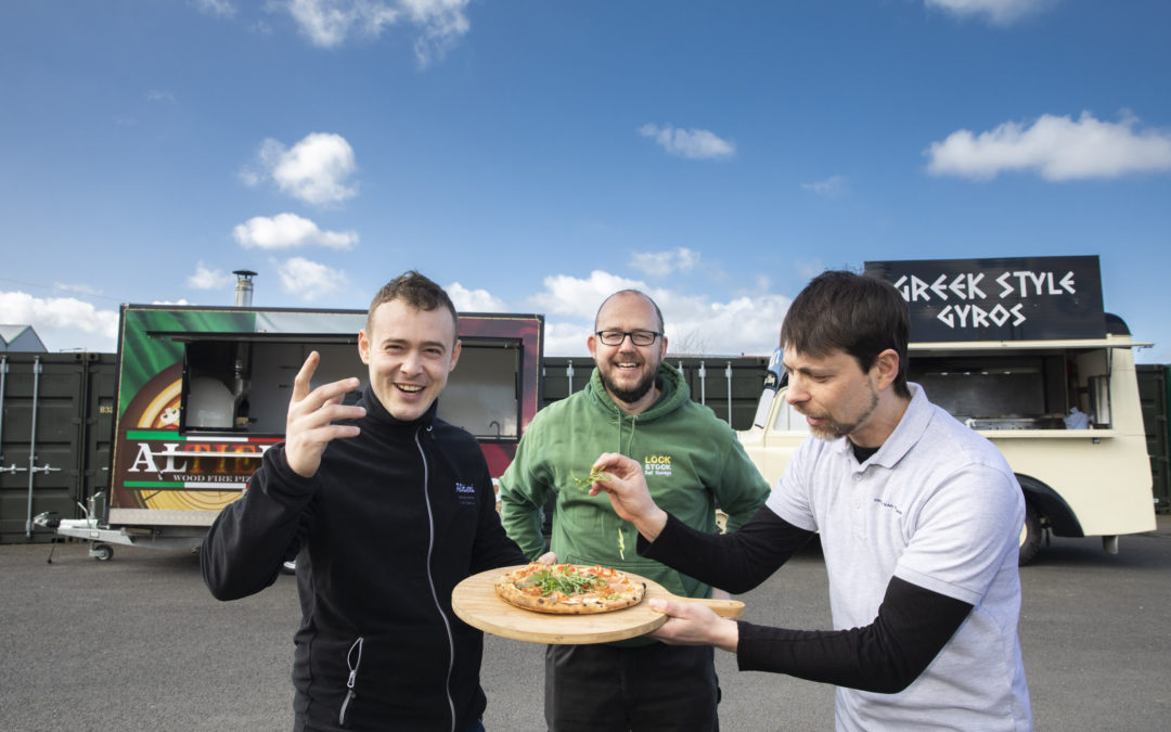 Michelin-star pizza man's lockdown switch to home delivery