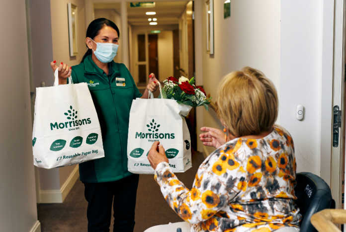 Morrisons partners with local McCarthy & Stone to provide next-day doorstep delivery service